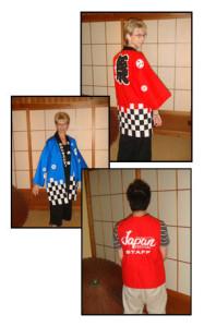 Staff Happi Coats and Vests