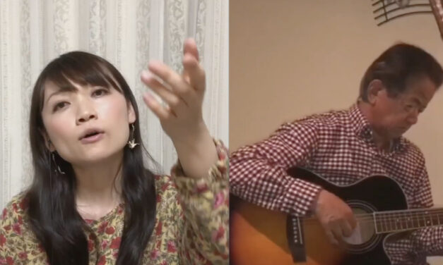 Japanese Pop Music by Aya Uchida (Accompanied on guitar by Mr. Jo Yamanaka)