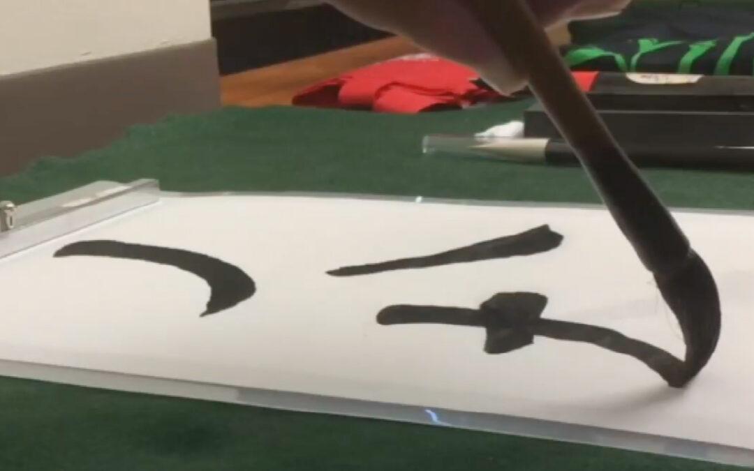 Calligraphy from the Soul by Ryoichi Kinoshita Sensei