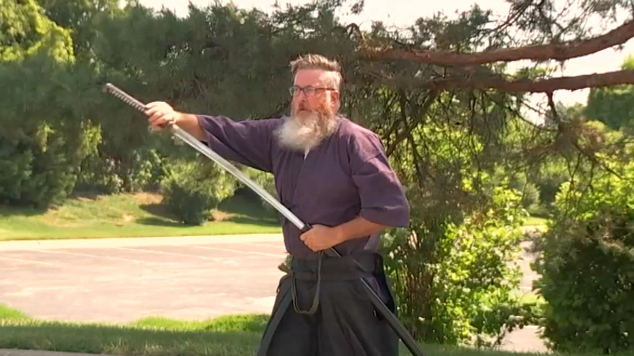 Iaijutsu Quick Draw Sword Technique